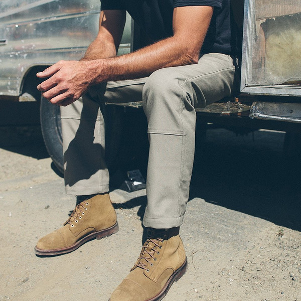 Men's Taylor Stitch The Chore Pant in Ash