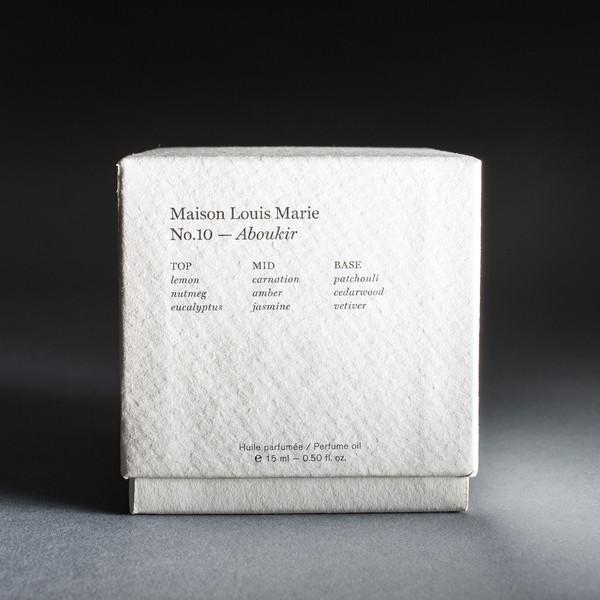 Maison Louis Marie Maison Louie Marie No.10 Aboukir Oil