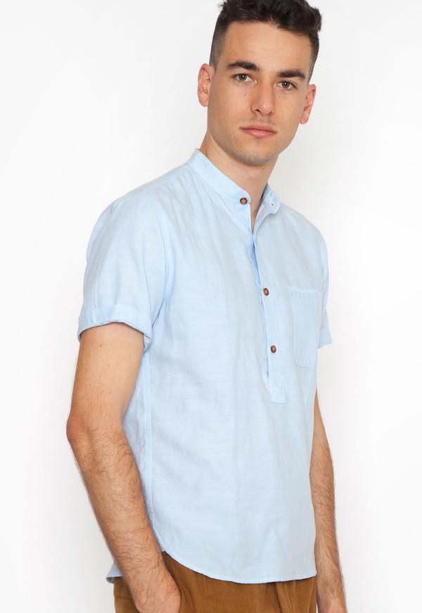 Cornflower Popover Shirt