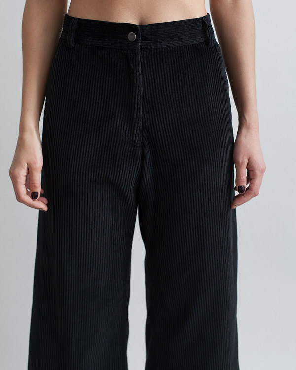 Rachel Comey Bishop Pant in Black Corduroy