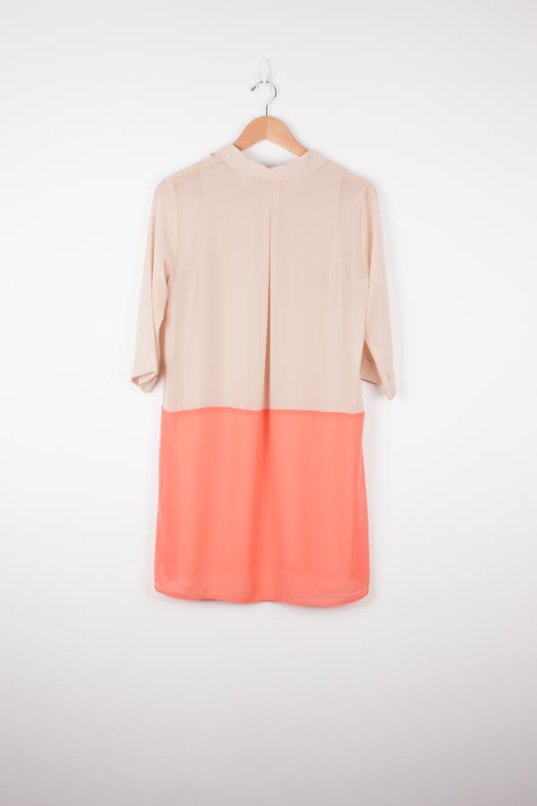 Velvet Cloud Shirt Dress