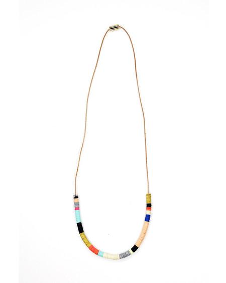 Julie Thevenot Chunky Half Island Necklace