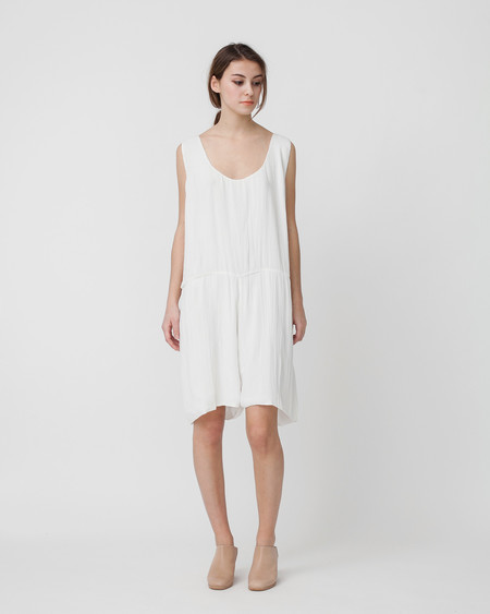 Revisited Matters Crushed Cotton Romper