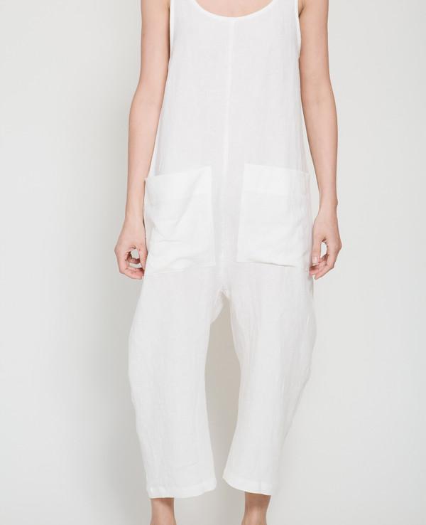 Ilana Kohn Gary Jumpsuit in white