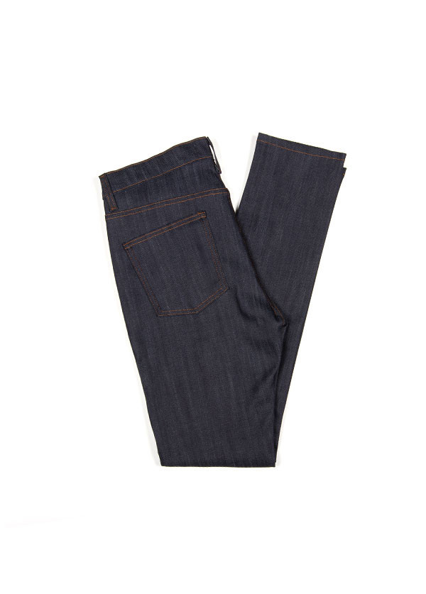 Men's Naked & Famous Denim - Stacked Guy in Indigo Power Stretch
