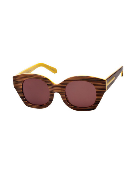Karen Walker Soul Club in Wood Yellow