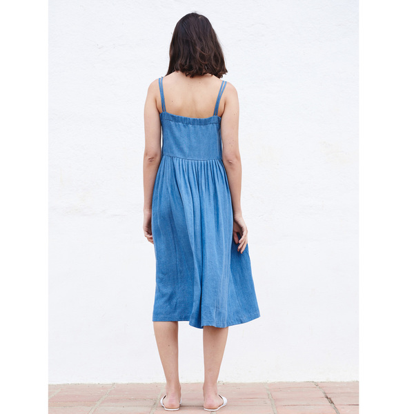 FIRSTRITE SUN DRESS - DENIM