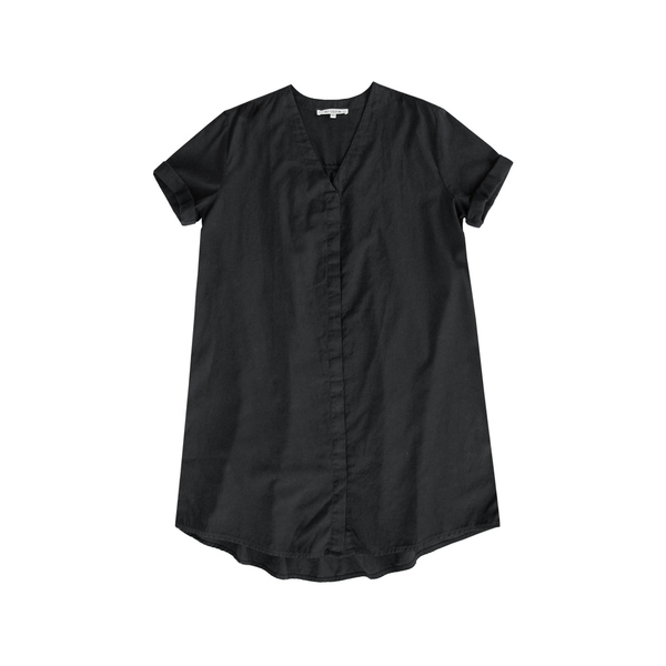 ALI GOLDEN SHIRT/DRESS - BLACK