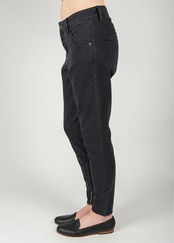 Objects Without Meaning - Boy Zip Jean in Coal
