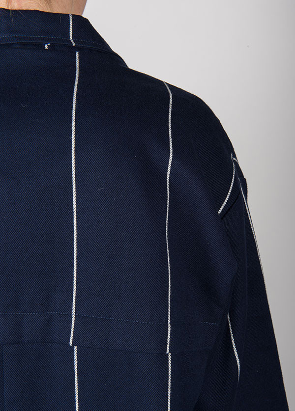 Objects Without Meaning - Cobin Jacket in Navy Stripe