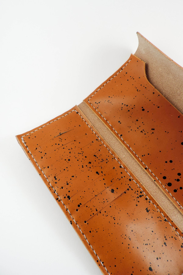 Farrell & Co. Speckled Slim Wallet