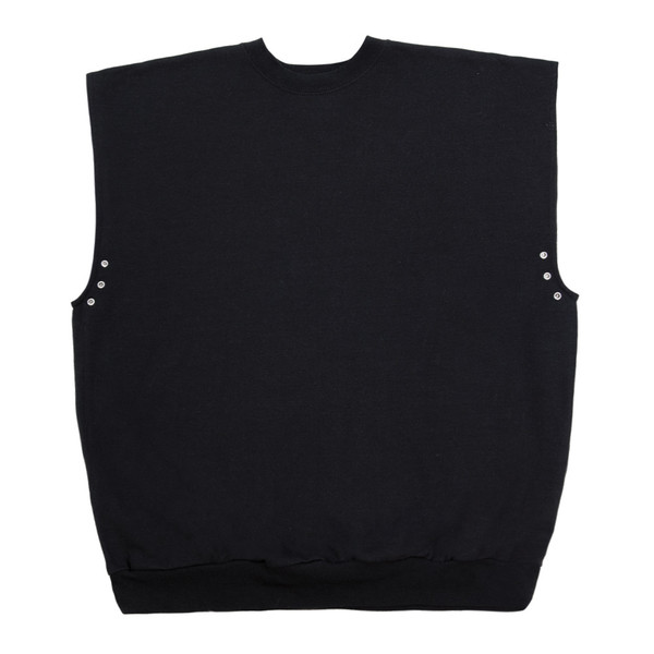 Sleeveless Eyelet in Black