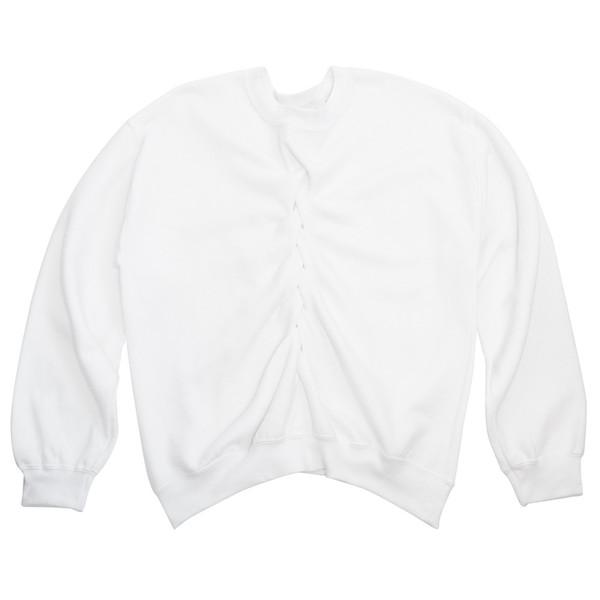 Smocked in White