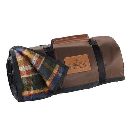 Pendleton Roll Up Blanket in Badlands Plaid