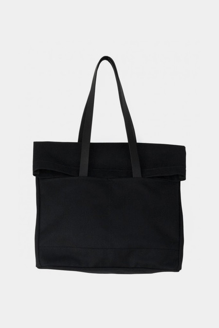 Makr Canvas and Leather Fold Weekender Bag