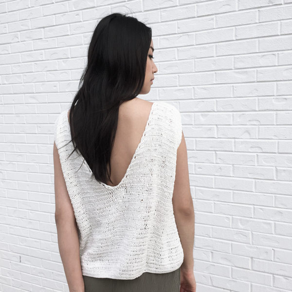 Rue Stiic - Crochet V Back Top