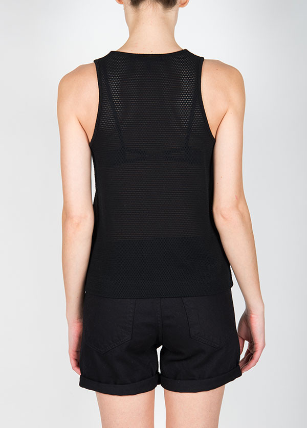 Rag & Bone - Atlantis Tank in Black