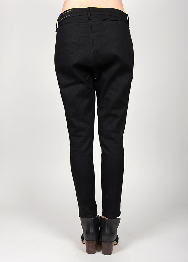 Rag & Bone - Dash Trouser in Black Resin