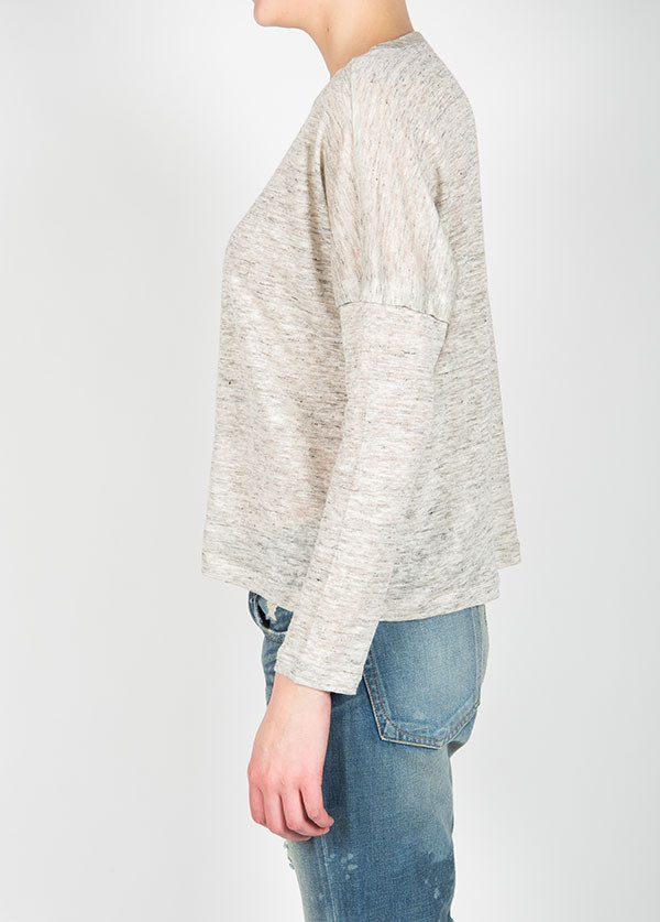 Rag & Bone - Deal Long Sleeve Tee in Fog