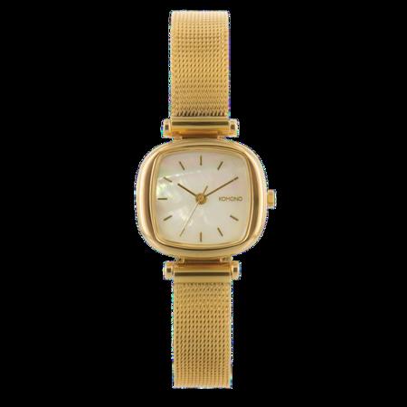 Komono - Moneypenny Watch Royale- Or/White