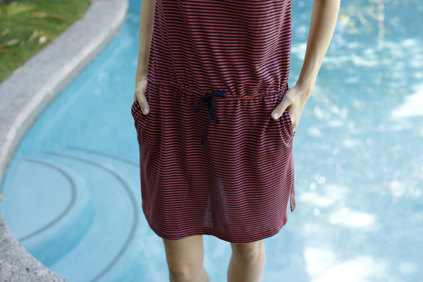 Calder Blake Georgia Dress in Picasso Stripe