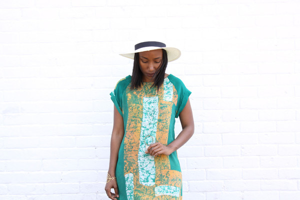 Osei-Duro Osei Duro Deni Dress (Green Rubics)