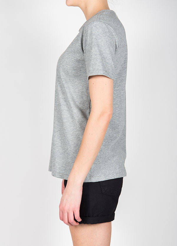 Rag & Bone - Tomboy Tee in Heather Grey