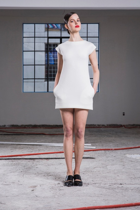 Cihuah C29#09 NEOPRENE MINI-DRESS