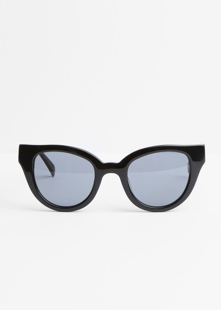 Carla Colour Barton Sunglasses in Midnight+Haze