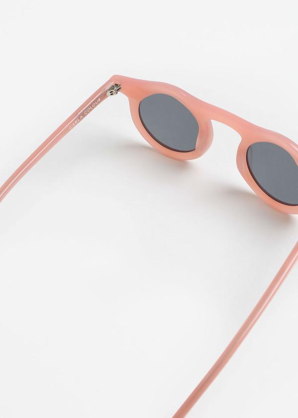 Carla Colour Lind Sunglasses in Flesh+Haze