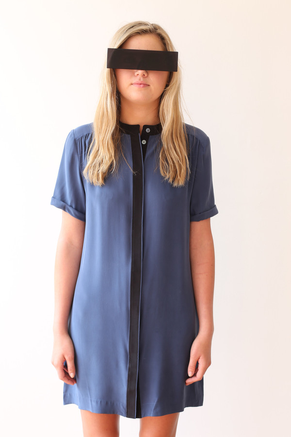 FRAME Denim Le Flutter Dress
