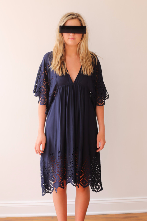 Ganni Yoko Lace Dress