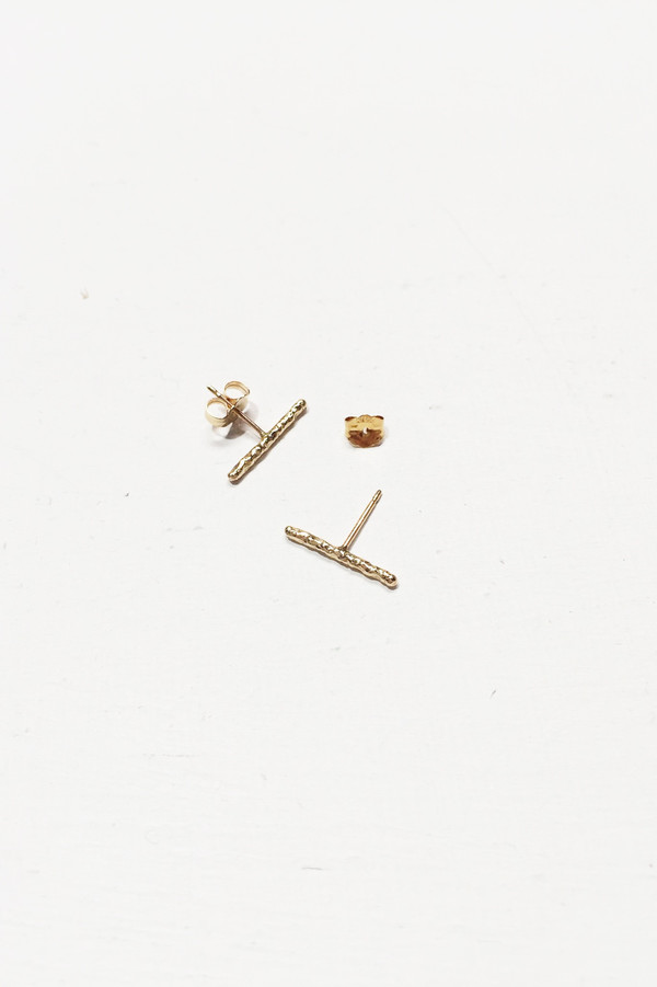 Nettie Kent Jewelry Maris Studs - 14K Yellow Gold