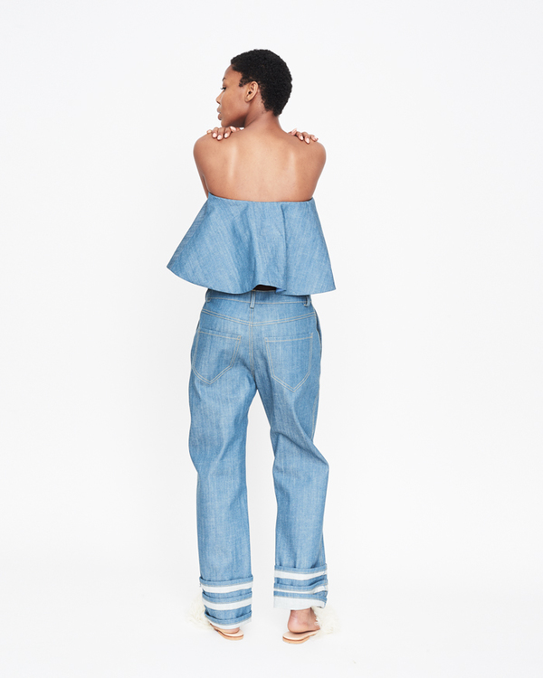 William Okpo Deemy Triple Cuff Jean