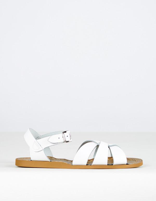 Salt Water Sandals The Original White