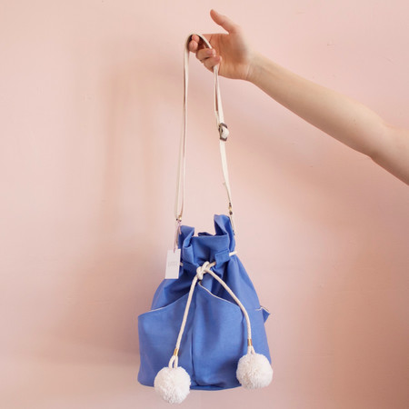 Lotfi Dia bucket bag - blue