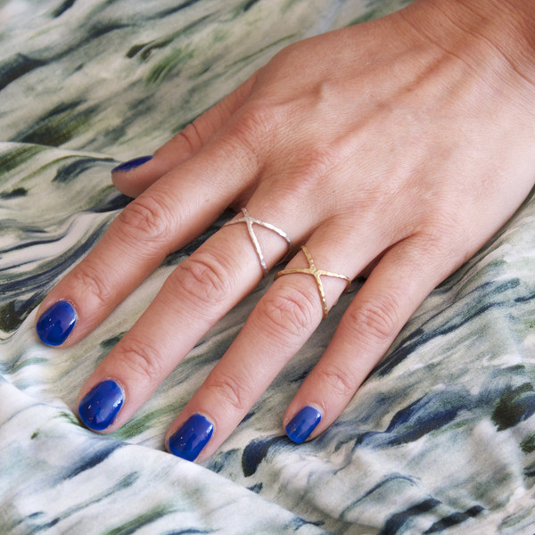 Nettie Kent Jewelry Kiva rings