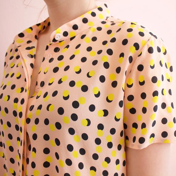 silk oversize tee dress
