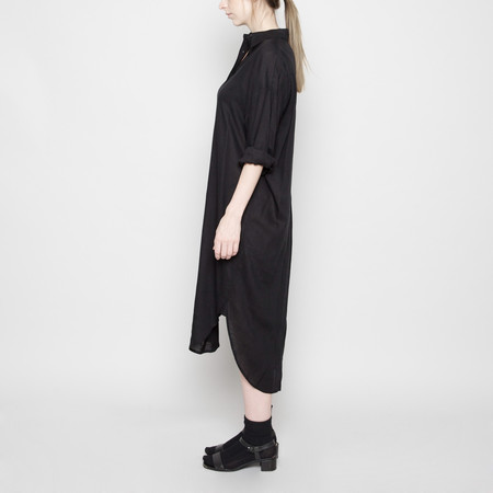7115 by Szeki Dolman Shirt-Dress- Black FW16