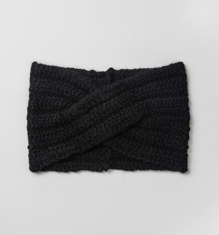 Ryan Roche Black Headband