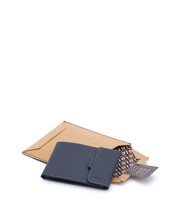 Bellroy Coin Fold Blue Steel