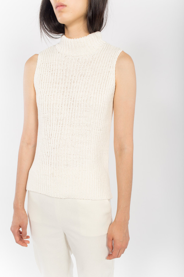 You Must Create Sleeveless Rib Knit