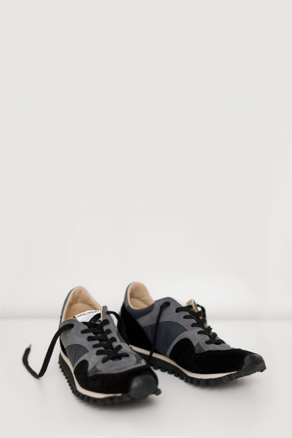 Unisex Spalwart Suede Marathon Low Trail Shoe - Black
