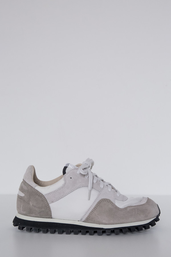 Suede Marathon Low Trail Shoe - White