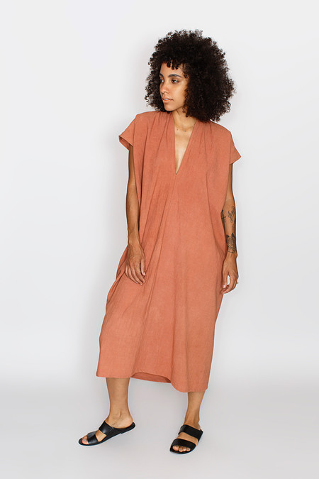 Miranda Bennett Everyday Dress, Oversized, Cotton in Dakota