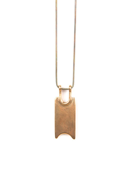 Tiro Tiro - Boleto Necklace