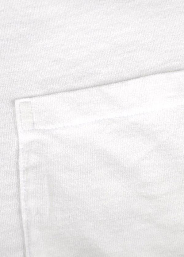 Velva Sheen - Men's Crew Neck Pocket T-Shirt 2-Pack in White