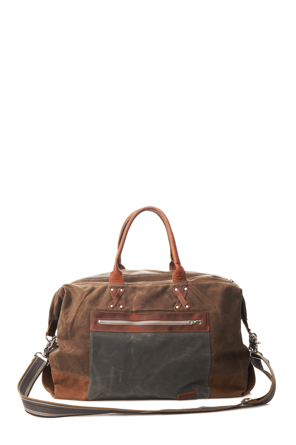 Parker Overnighter Rust Olive Charcoal