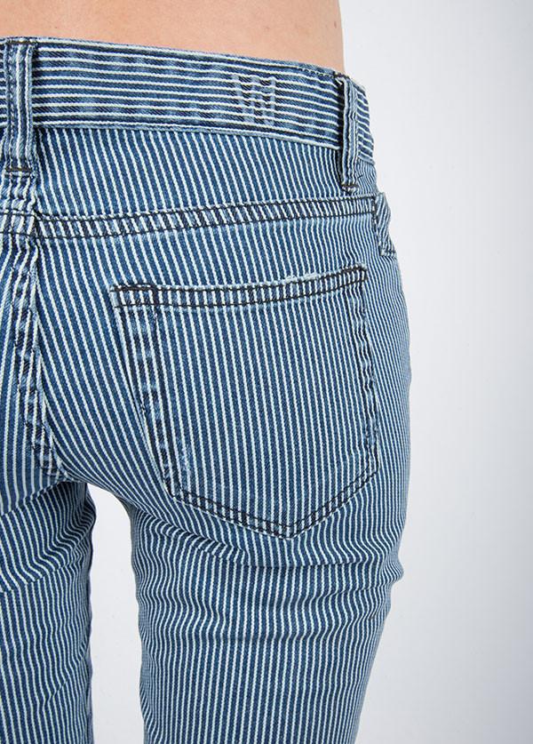 Williamsburg Garment Company - Bedford Ave Skinny in Washed Stripe