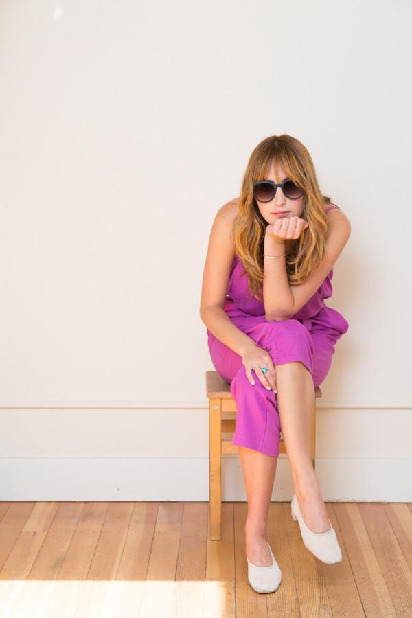 Lindsay Robinson Sol Jumpsuit in Hibiscus